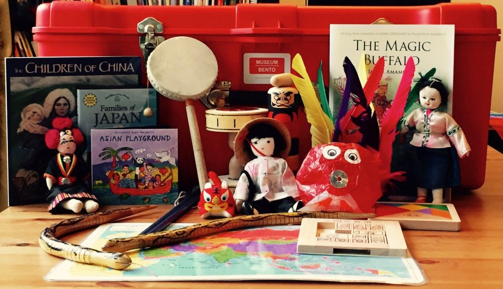 Museum Bento Children at Play box