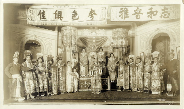Kwok Fung Lin Troupe, 1923, Cecil B. Wand, UBC Library